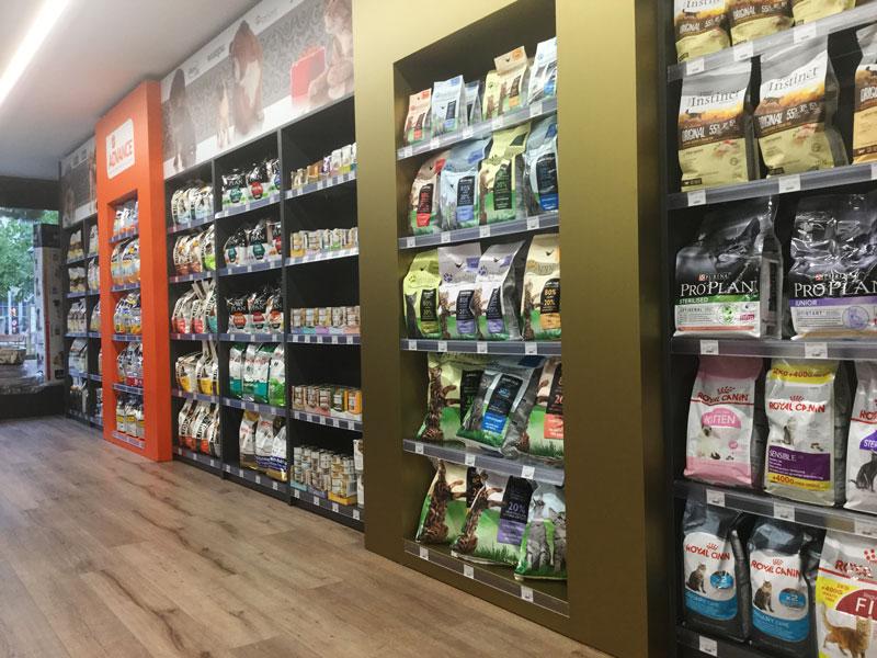 Tiendas Mascotas Lleida zona Alimentacion