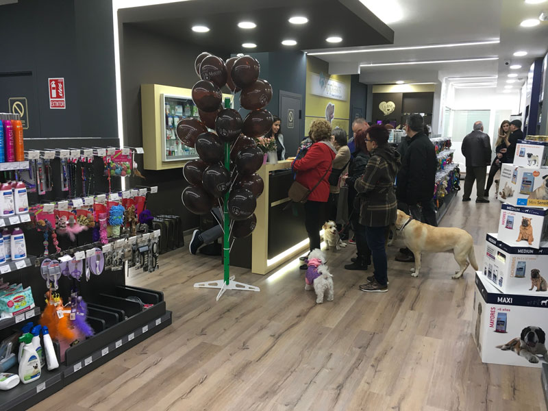 Tienda de mascotas en Barcelona Guinardo