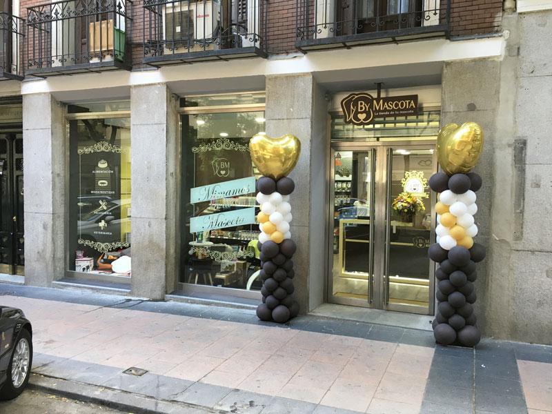 Recepción Tienda Mascotas Madrid Salamanca