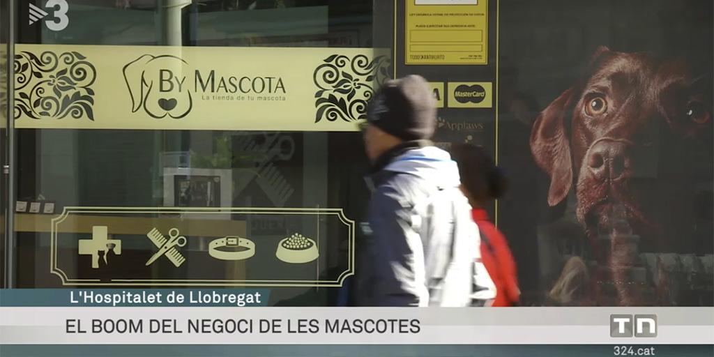 """Franquicia By Mascota en programa """"Els diners"""" TV3"""